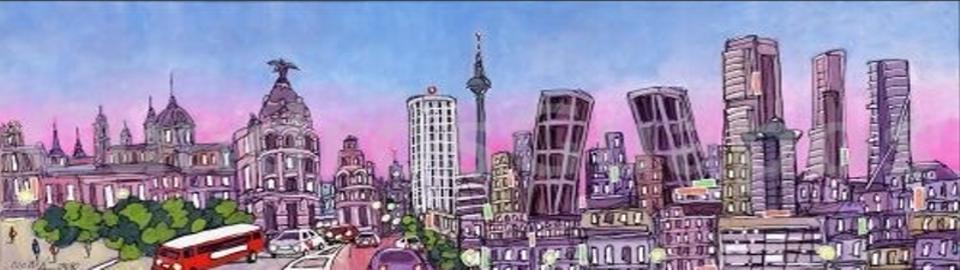 Panorámica de Madrid | Skyline | José Alcalá