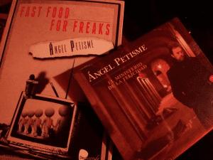 'Fast Food for Freaks' (libro) y 'El Ministerio de la Felicidad' (disco) | Ángel Petisme, 2014