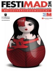 FestiMad 2M 2014 | #Biodiversidadmusical | Del 23 de abril al 4 de mayo de 2014 | Comunidad de Madrid | Cartel