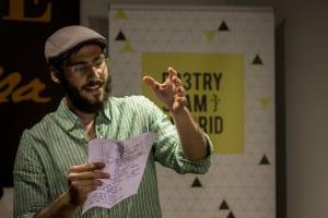 Álvaro Pelegrín | Poetry Slam especial por el Día Mundial de la Poesía 2014 | Casa Museo Lope de Vega | 21 de marzo de 2014