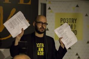 Pablo Cortina | Poetry Slam especial por el Día Mundial de la Poesía 2014 | Casa Museo Lope de Vega | 21 de marzo de 2014