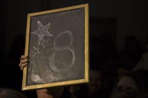 El público votando | Poetry Slam especial por el Día Mundial de la Poesía 2014 | Casa Museo Lope de Vega | 21 de marzo de 2014