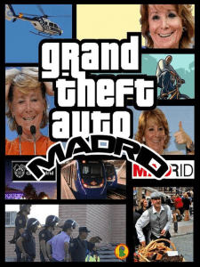 Grand Theft Auto Madrid 'Espe a la fuga'