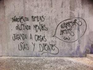 Invadïendo pupilas | Warrior Artits | Plaza de Agustín Lara | Lavapiés | Madrid