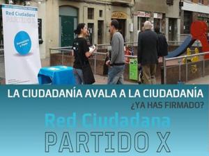 La Ciudadanía avala a la Ciudadanía | ¿Ya has firmado? | Red Ciudadana - Partido X
