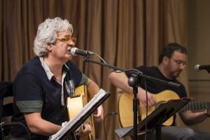 Joaquín Lera y Pablo Méndez en la presentación en la SGAE | (CC) Paula Díaz