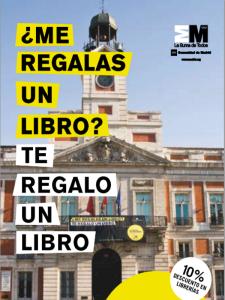 ¿Me regalas un libro? Te regalo un libro | Día Internacional del Libro | 23 de abril de 2014 | Comunidad de Madrid