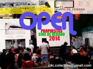 Open Propuestas Cine de Verano 2014 | El Campo de Cebada