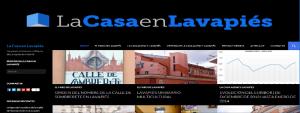Cabecera sitio web La Casa en Lavapiés