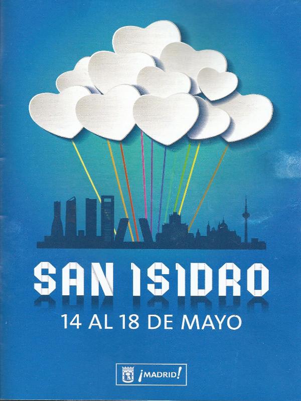Cartel Fiestas de San Isidro | Madrid | 14 al 18 de mayo de 2014