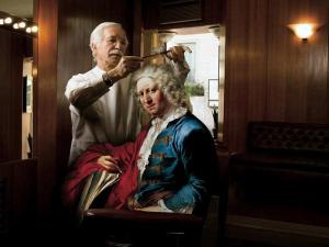 El peluquero y el político o una fábula contemporánea