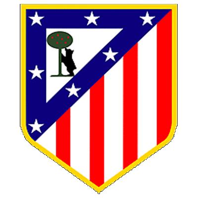 Escudo oficial del Club Atlético de Madrid Sad