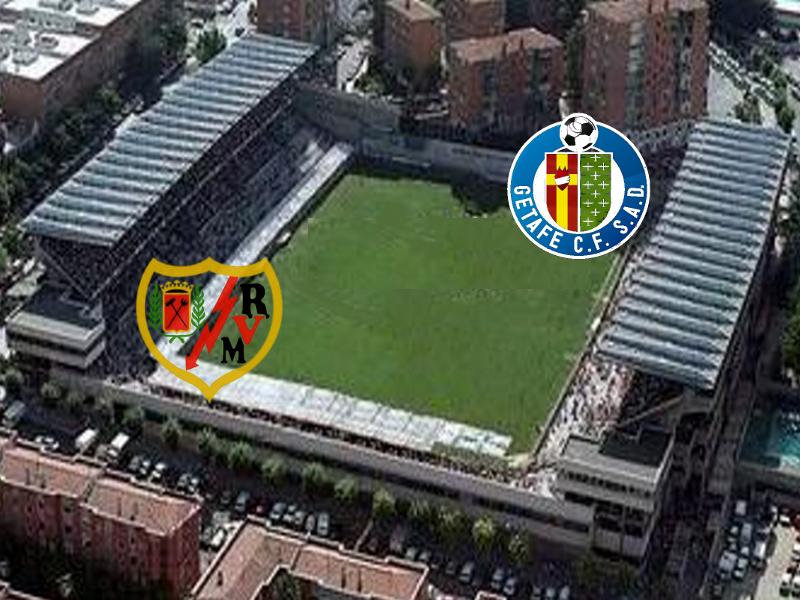 Rayo Vallecano de Madrid y Getafe CF jugarán su último encuentro de la Temporada 2013-2014 en el Estadio de Vallecas (Distrito de Puente de Vallecas, Madrid)