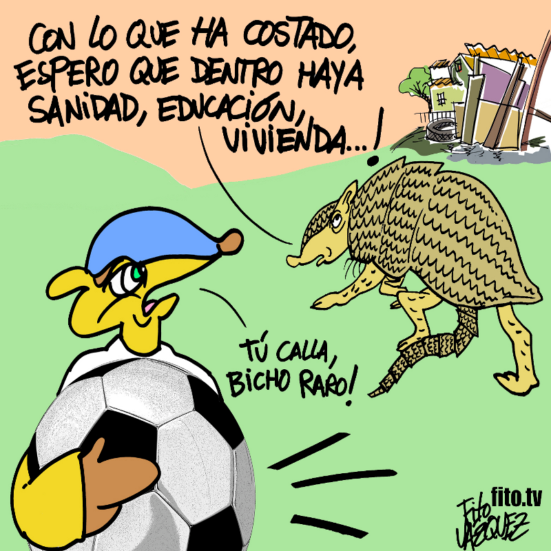 El 'bicho raro' del Mundial 2014 | Fito Vázquez 2014