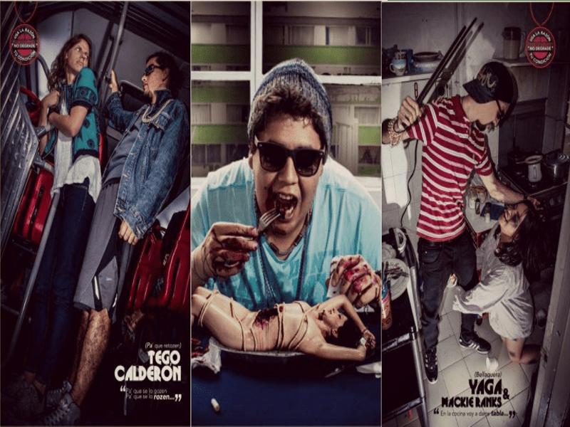 Imágenes basadas en letras de reguetón | PicMonkey Collage