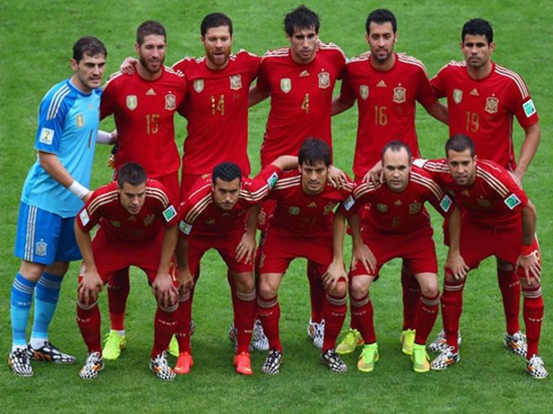 Once inicial de la selección de España contra la selección de Chile | Miércoles 18 de junio de 2014 | Estadio de Maracana - Río de Janeiro | Copa Mundial de la FIFA Brasil 2014 | © Getty Images