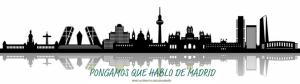 Cabecera PqHdM | Panorámica de Madrid | Skyline | Murales y Vinilos