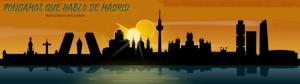 Cabecera PqHdM | Panorámica de Madrid | Skyline noche | Murales y Vinilos