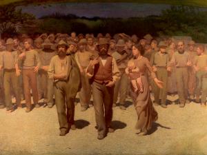 El cuarto poder   Quarto Stato   1901   Giuseppe Pellizza da Volpedo   Centro