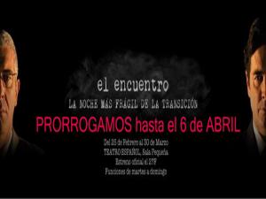 'El encuentro' | Avanti Teatro | Teatro Español de Madrid | Prorrogado hasta 6 de abril de 2014