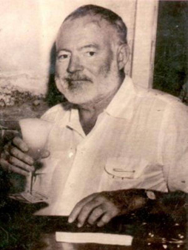 Ernest Hemingway era un apasionado del daiquiri floridita cubano