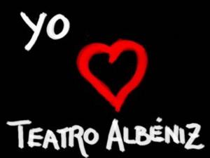 Pegatina 'Yo ♥ Teatro Albéniz'