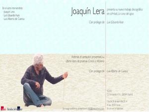 Presentación de  'La cuna del agua' y 'Cartas a Maitena' de Joaquín Lera en la SGAE