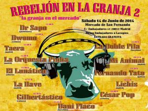 Rebelión en la Granja 2 | La Granja en el Mercado Granja Beat Grabaciones Agropecuarias | Mercado de San Fernando | Lavapiés - Madrid