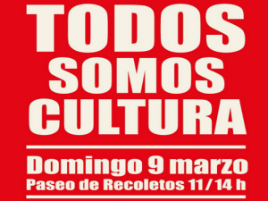 Todos somos Cultura | Domingo 9 de marzo de 2014