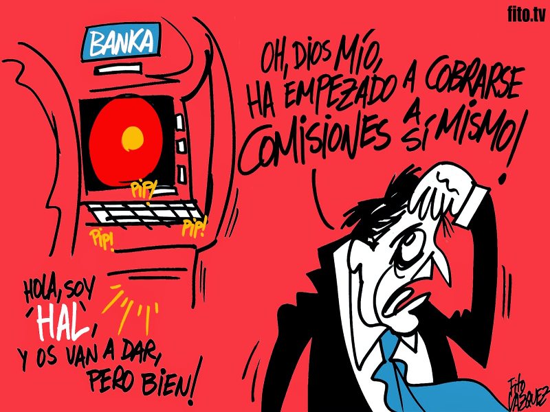 2021 Una odisea bancaria | © Fito Vázquez 2014