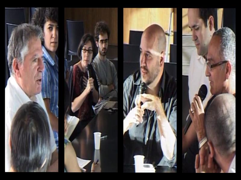 Debate en el evento 'Un glosario para el procomún' celebrado en Medialab-Prado de Madrid (julio 2014)