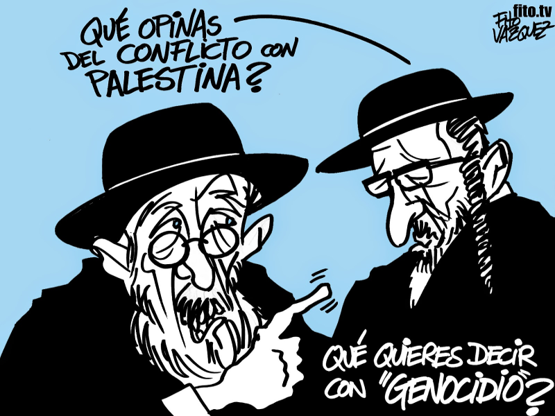 Dos rabinos | © Fito Vázquez 2014