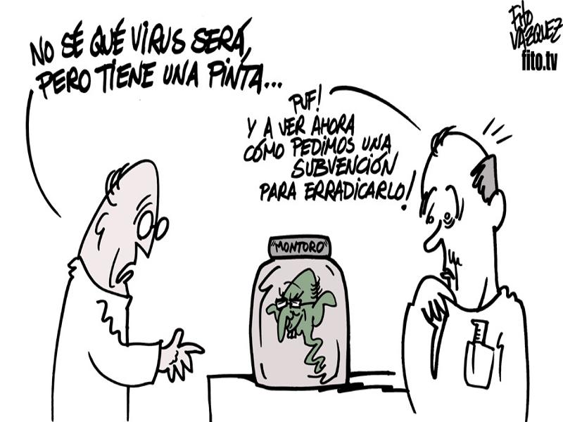 Ébola económico | © Fito Vázquez 2014
