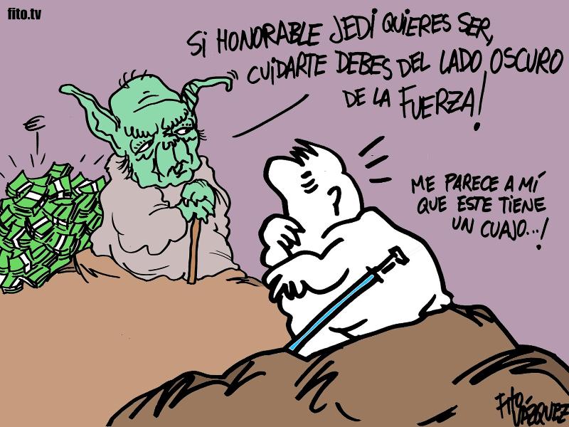 La última lección de 'Yoda' Pujol | © Fito Vázquez 2014