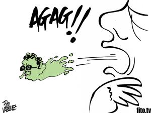 ¡Agag! | El 'pollo' que atraganta a la gente de bien | © Fito Vázquez 2014