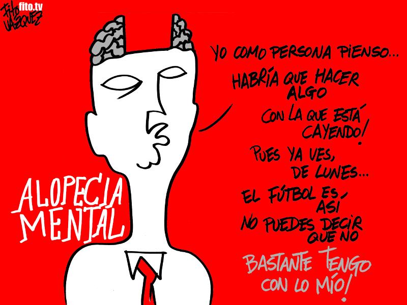 Alopecia mental | © Fito Vázquez 2014