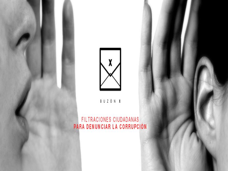 Buzón X | Filtraciones ciudadanas para denunciar la corrupción | Red Ciudadana Partido X | 2014