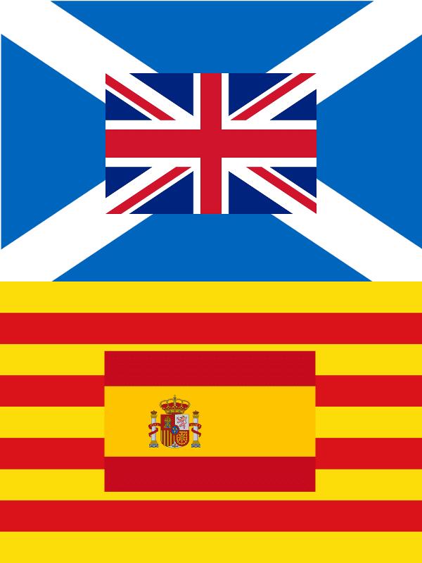 Escocia - Reino Unido | Catalunya - España | Un paralelismo sin paralelas | Septiembre 2014