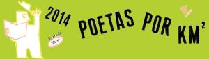 Festival Poético '2014 Poetas por km2' | Centro Cultural Conde Duque | Madrid | Del 2 al 5 de octubre de 2014 | Diseño: Milicia Gráfica | Portada