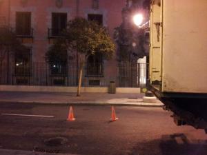 Imágenes del fin del mundo | 2 | Calle de Fuencarral | Malasaña | Madrid | 12 - 01 - 2013