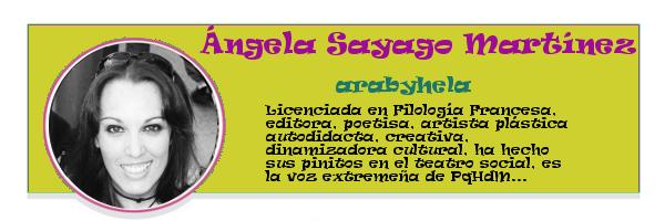 Perfil colaboradores PqHdM | Ángela Sayago Martínez | arabyhela