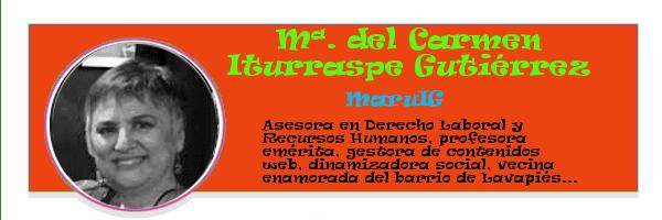 Perfil colaboradores PqHdM | María del Carmen Iturraspe Gutiérrez | MaruIG