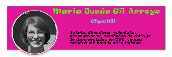 Perfil colaboradores PqHdM | María Jesús Gil Arroyo | ChusGil