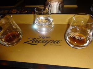 Zacapa Room | Un viaje sensorial al universo del ron Zacapa | Hasta 02-10-2014 | Copas de la cata premium