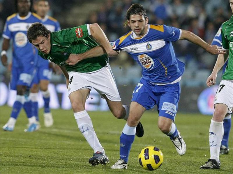 El Getafe consiguió una importante victoria frente a la Real Sociedad (1-2) en la jornada octava de la Liga BBVA 14-15 el lunes 20 de octubre de 2014