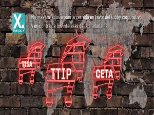 No más tratados a puerta cerrada a favor del lobby corporativo y en contra de los intereses de la ciudadanía | Red Ciudadana Partido X