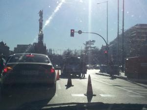 Imágenes del fin del mundo | 8 | Plaza de Colón | Goya | Madrid | Sábado 12 de enero de 2013