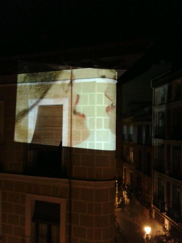 Visiones intraterrestres |  Vértice Curvo | Esquina Calle del Espíritu Santo con Calle de Jesús y María | Madrización | Viernes 31 de octubre de 2014 | 1