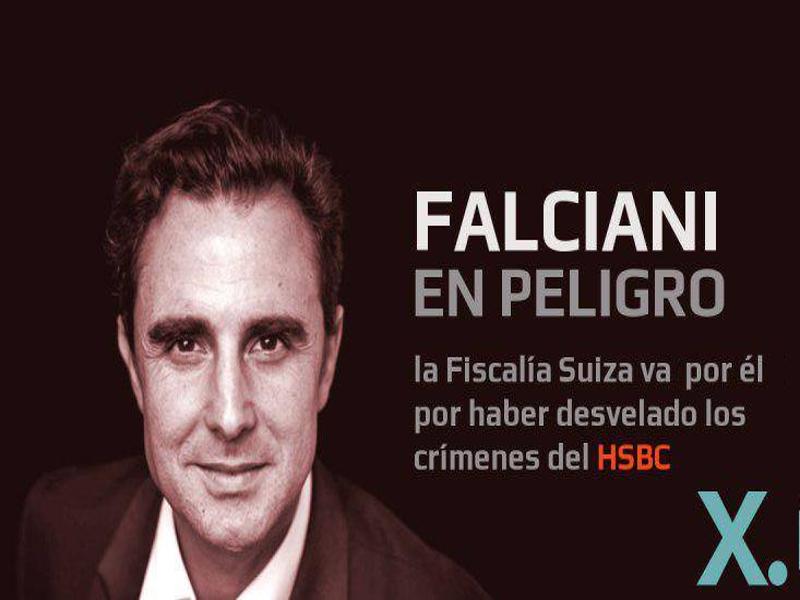 Falciani en peligro | La fiscalía suiza va por él por desvelar los crímenes del HSBC| Red Ciudadana - Partido X
