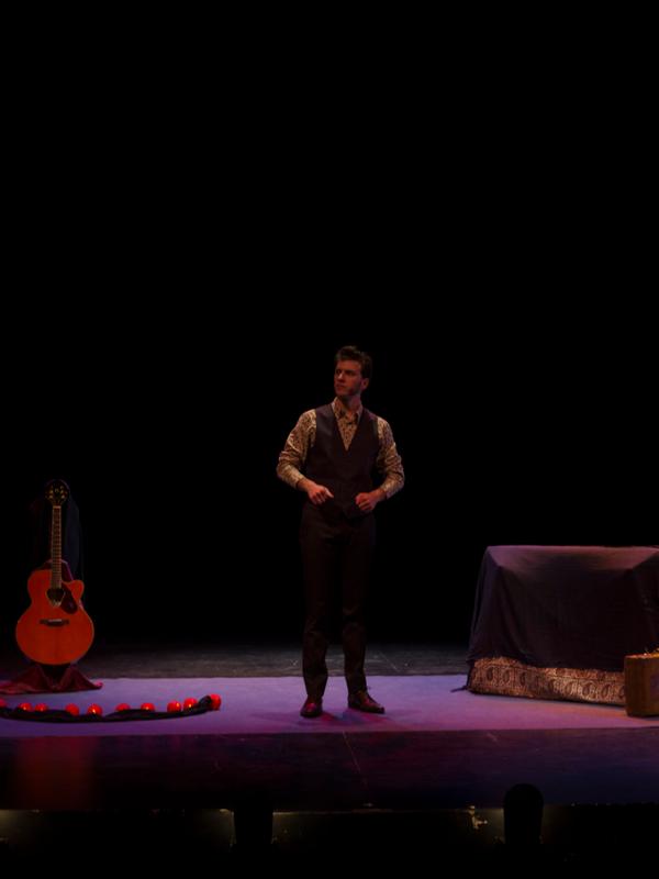 Joxean Orbegozo en 'Grandes Éxitos' | Teatro El Montacargas de Madrid | 6, 20 y 27 de diciembre de 2014